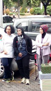 Dari kiri ke kanan Ratna Susianawati SH, MH, Ina Rachman SH, MH, Dian Wisdianawati, M.Si (foto Sitti Rabiah)