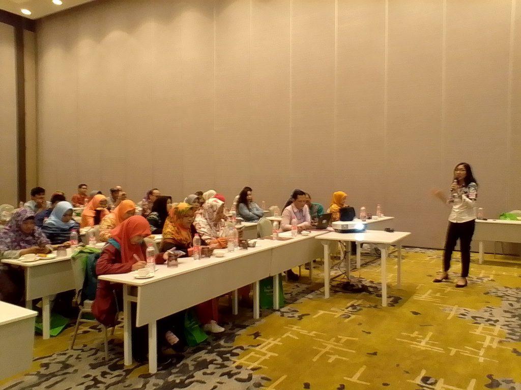 Suasana media gathering bersama Bapeten di hotel Harris Jakarta