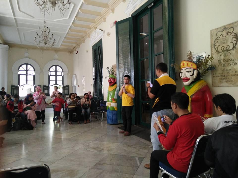 MUSEUM TEKSTIL JAKARTA, tempat berlangsung acara demo masak bersama Mas Jun (foto Nur Terbit)