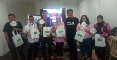 Pemenang quis Oppo (foto: Syaifuddin Sayuti)
