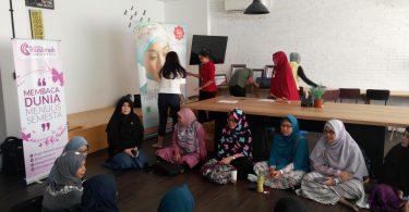 Peserta Blogger Muslimah Meet Up (foto Bunda Sitti Rabiah)