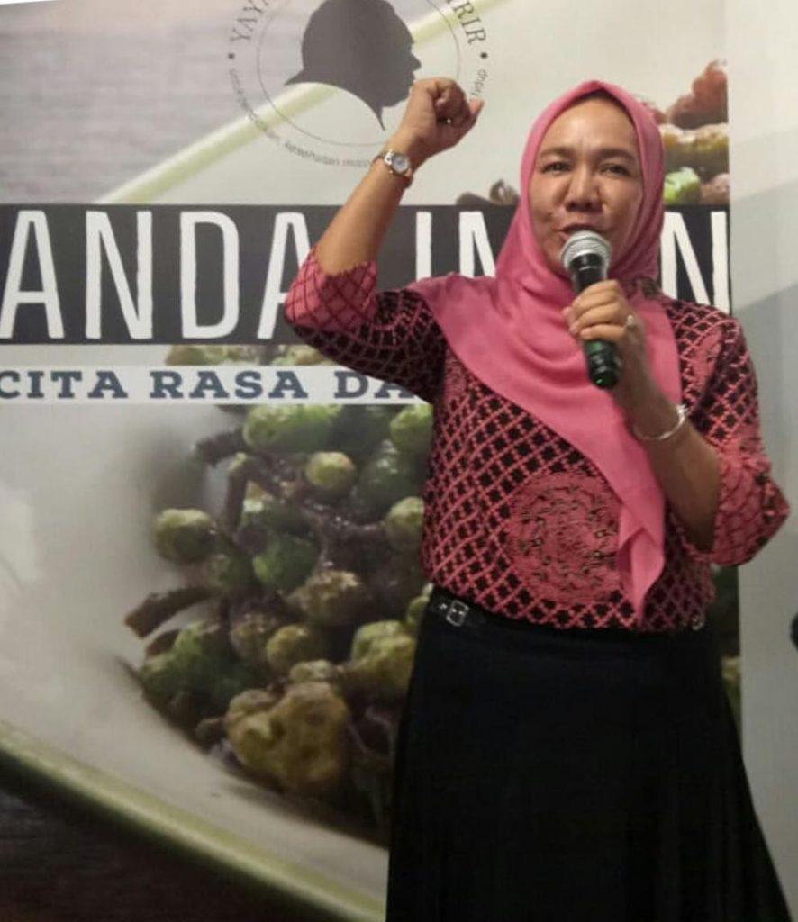 Kepala Dinas Pariwisata dan Kebudayaan Sumatera Utara, Wan Hidayati (dok YDS)