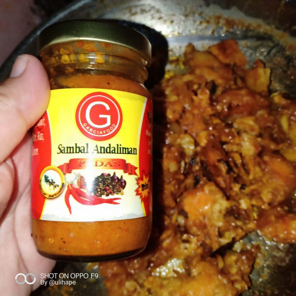 Sambal Andaliman untuk isi roti Panada buatan saya (foto : Bunda Sitti Rabiah)