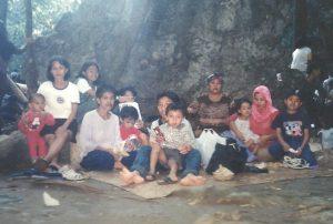 Berwisata keluarga ke Air Terjun Bantimurung Kabupaten Maros Sulsel (dok pribadi)